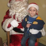 First visit with Santa for the season